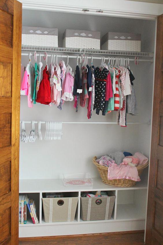 Carolina Charm: Nursery Update {Mini Closet Makeover}