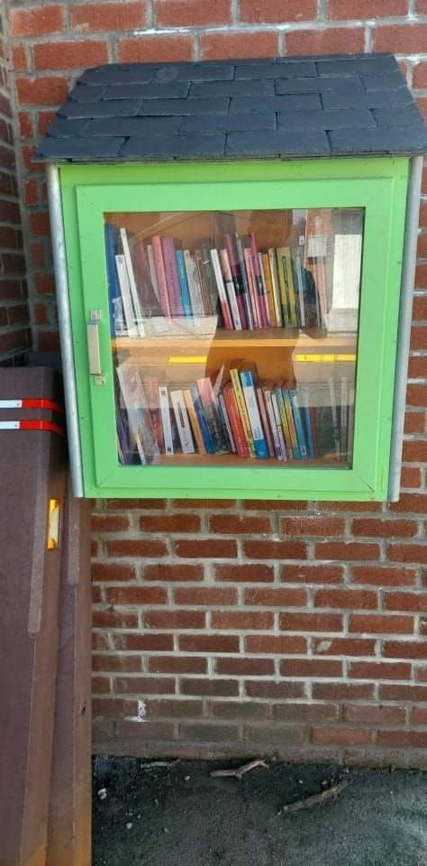 Boîte à livres- Beignee