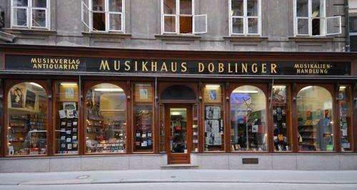 Wien - Vienna - City - Musikhaus Doblinger Vienna austria - reddy küchen wien