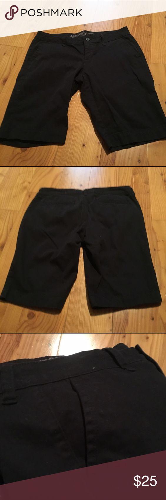 NWOT Black Bermuda Shorts Brand new, without tags! Black chino Bermuda shorts with pockets in front and back! Very comfortable! Arizona Jean Company Shorts Bermudas