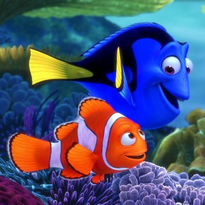 Got to love Finding Nemo - especially Dory!!! Best animated film, if not film full stop!!