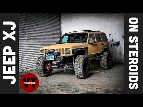 Jeep Xj On Steroids Too Much Power Turbo Ls Swapped Jeep