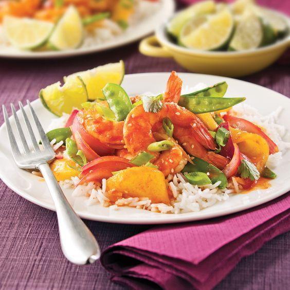 Ces crevettes sont non seulement sucrées-salées, mais aussi épicées et acidulées grâce au chili et à la lime! Une véritable explosion de saveurs!