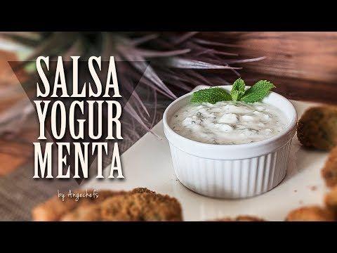 Salsa De Yogur Y Menta Angechefs Salsa De Yogur Recetas Fáciles Recetas Faciles Y Rapidas