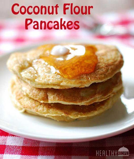 Coconut Flour Pancakes | Recipe | Coconut Flour Pancakes, Coconut ...