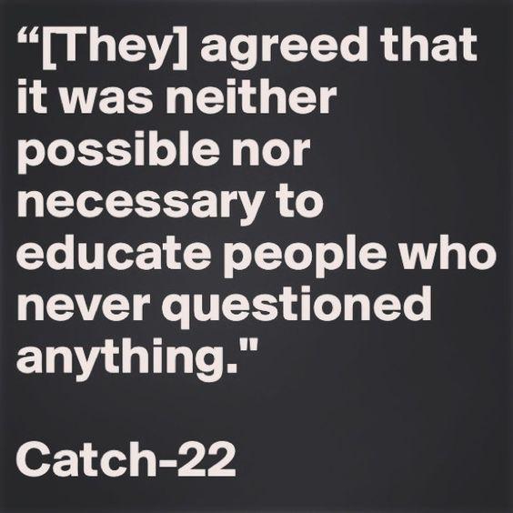 Catch 22. -–. Great book!