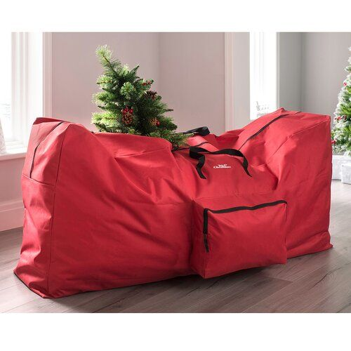 Christmas Tree Storage Box The Seasonal Aisle Size 76cm H X 38cm W X 44cm D Christmas Tree Storage Box Christmas Tree Storage Bean Bag Chair