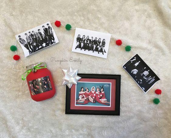 3 DIY Kpop Christmas Room Decor Ideas