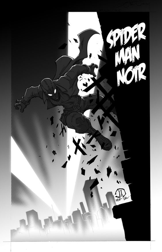 Spider-Man Noir - by Joey Vazquez