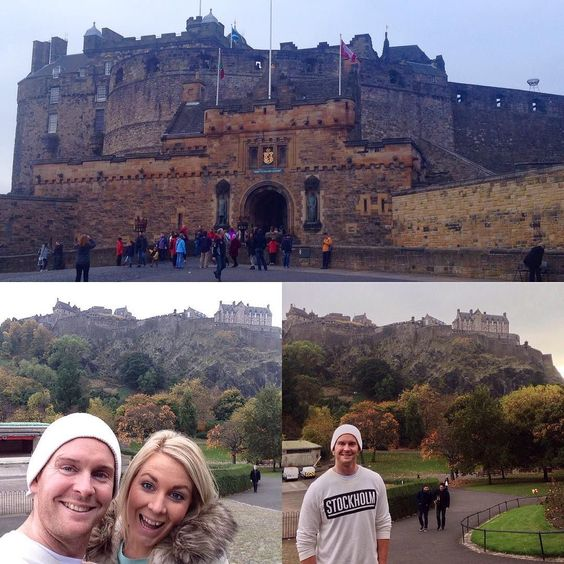 Day 119 #scotland #edinburgh #edinburghcastle #lastdayinscotland #belfasttomorrow by danielleshellback