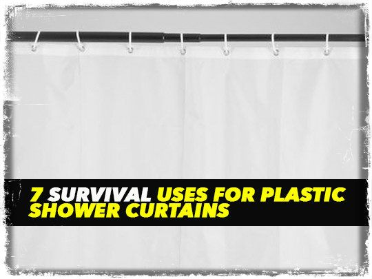 My shower curtain was never something that crossed my mind as a potential survival item but it sure can be used in a variety of ways if you're short on supplies. One or two ideas are stretching it a bit…Read more ›