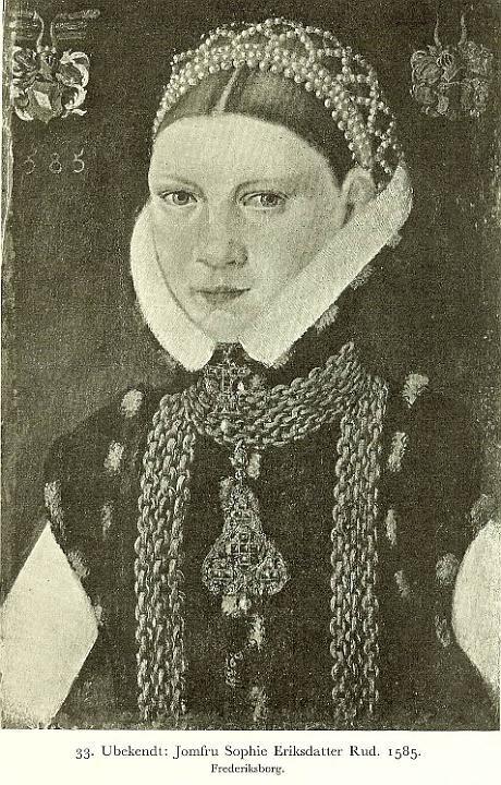Portrait de Sophie Rud, 1585