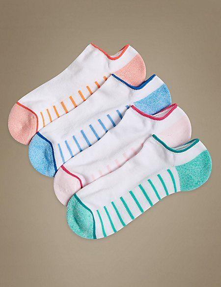 m&s ladies trainer socks