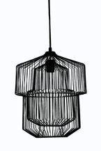 Lampa wisząca LINES 30301-BLA-10 Pomax