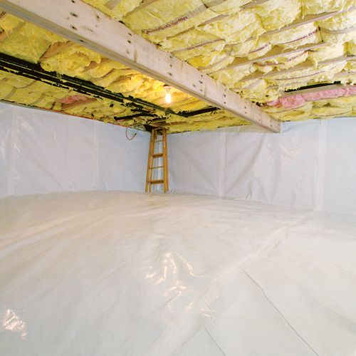 What S The Best Way Of Dealing With A Leaky Crawl Space Crawlspace Rigid Foam Insulation Sealed Crawl Space