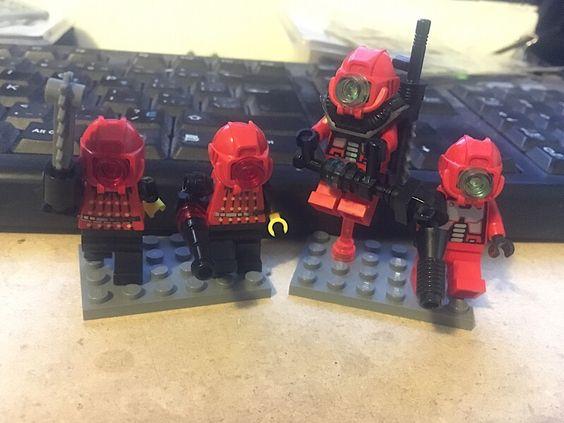Bricks: Lego doodles POST THEM, by bann154