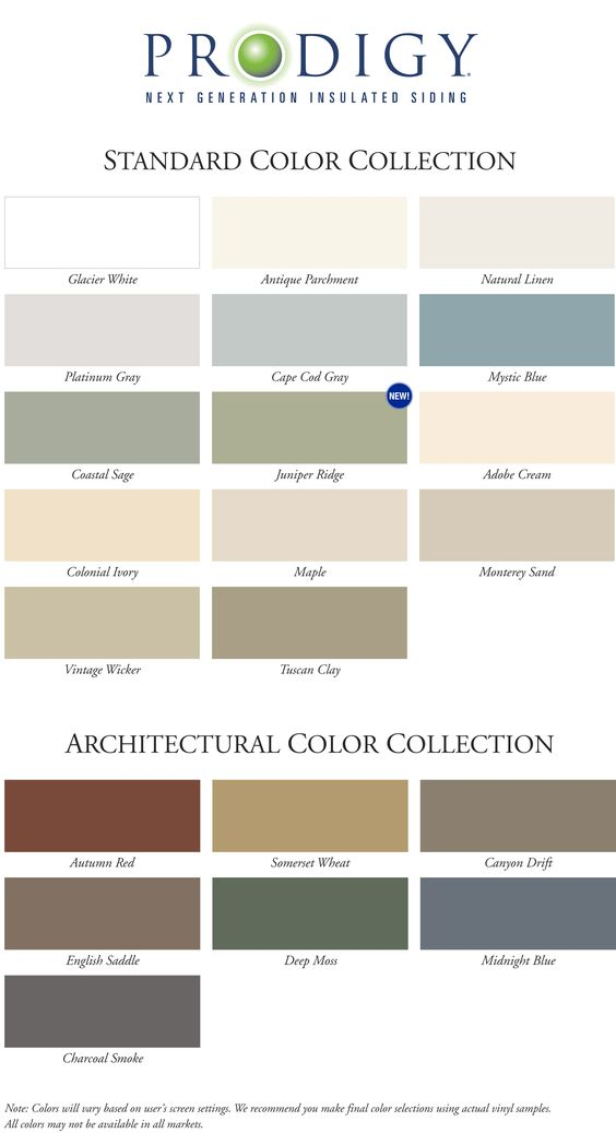 Siding Colors Vinyl Siding And Smoke On Pinterest