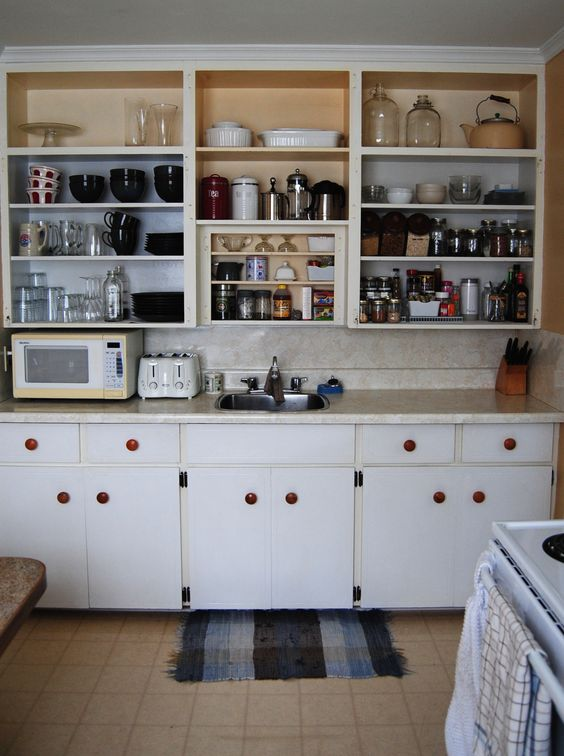 """Kitchen cupboards """"after"""" Still have to paint them."""