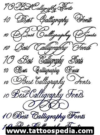 Latin Font Styles For Tattoos Google Search Fonts
