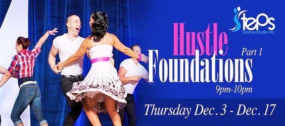 Hustle Foundations Part 1 At Steps Dance Studio