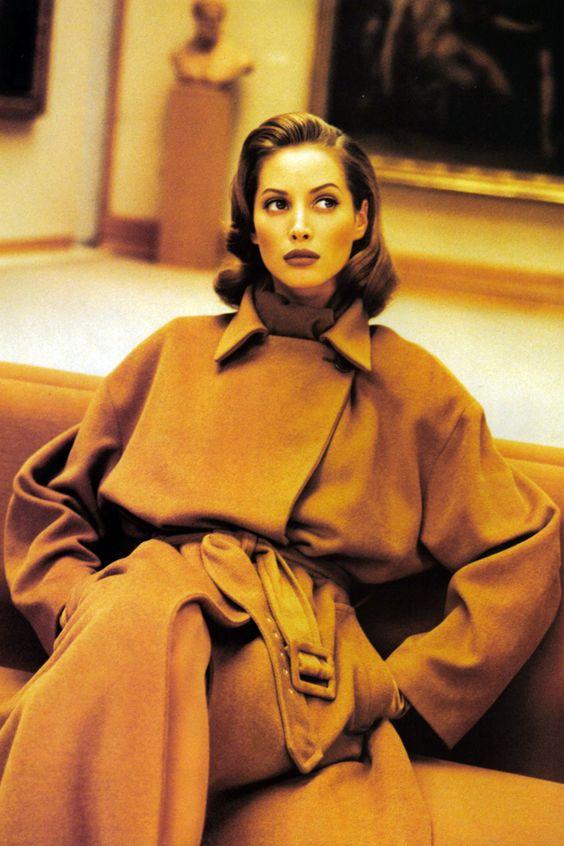 Christy Turlington by Patrick Demarchelier, September 1992
