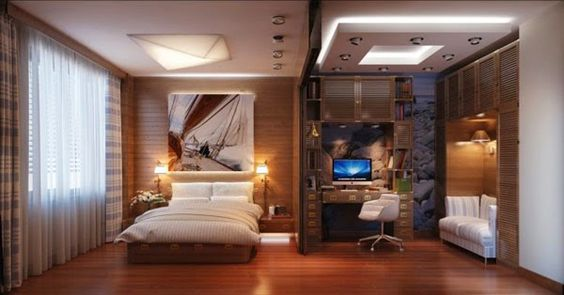 Fotos de habitaciones para solteros House Pinterest Bedrooms - m cken im schlafzimmer