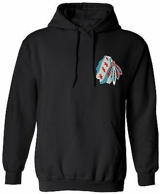Chicago Indian Head Flag 5 Time Champions Pullover Hoodie