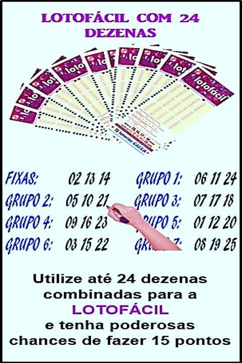 Pin De Terezinha Vieira Em Loterica Jogos Sorte No Jogo Jogo