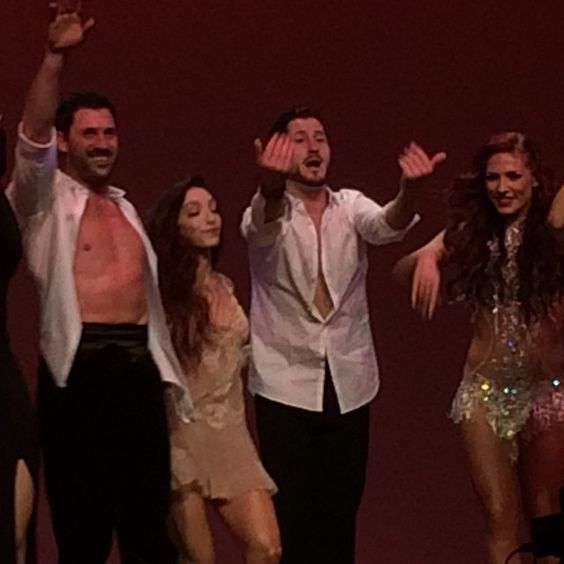 """ marygrimmer: awesome show!! So glad I got to see maks and meryl dance!! """