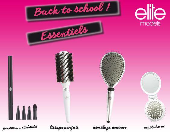 Les accessoires Elite models vous accompagnent pour une rentrée 2014 en beauté ! #beauty #makeup #hair