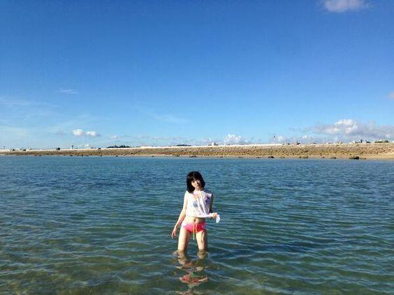 myarlat:  (Twitter / izukoneko_mari: 沖縄 の 海 楽しかった …から)