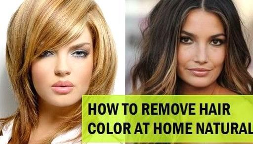 5 Ways To Remove Hair Color From Hair Naturally At Home Hair Color Remover Removing Permanent Hair Color Hair Dye Removal