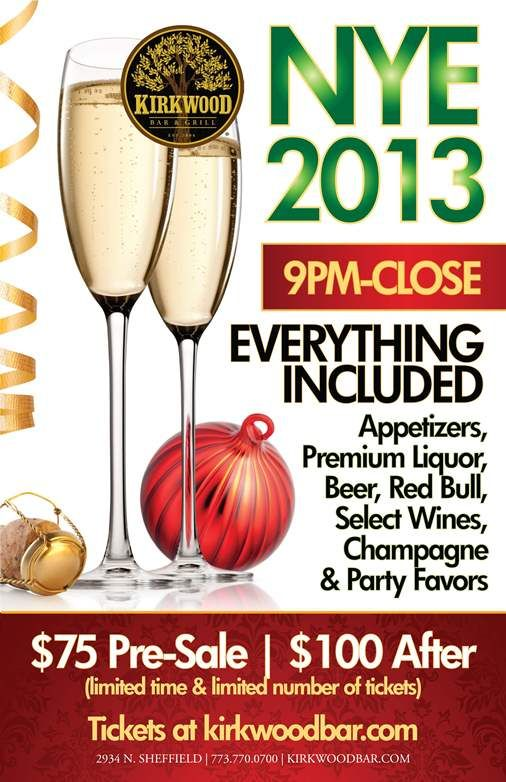 NYE at Kirkwood - EVERYTHING included! $100, $75 Pre-Sale!!