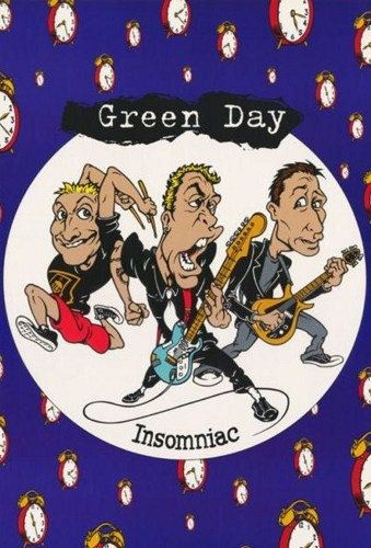 Green Day Insomniac Rare Vintage Poster | Green Day ...