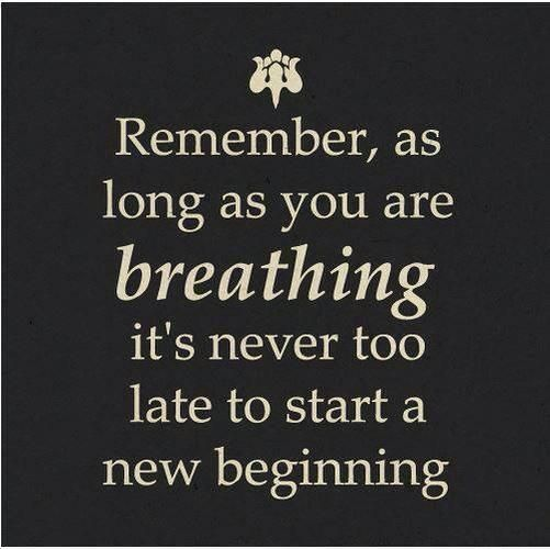 #quote new beginning