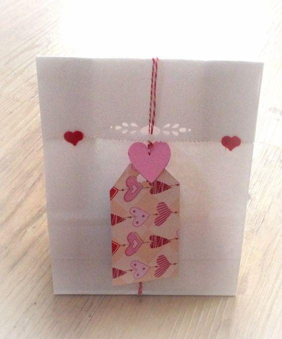 Schenken mit Herz Heart packaging