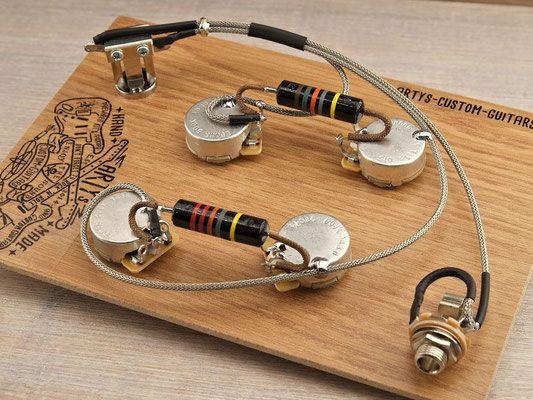 Es 339 Wiring Harness In 2020 Custom Guitars Custom Electric Guitars Harness