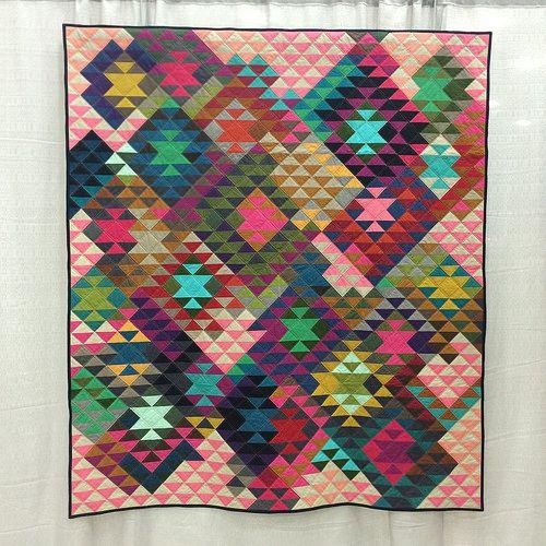 Half Square Triangles by Tara Faughnan (Oakland, California)