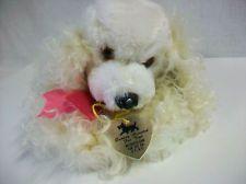 Vintage Metropolitan Fur Toy Co. N.Y. Plush Toy Puppy Dog Poodle Cocker Spaniel