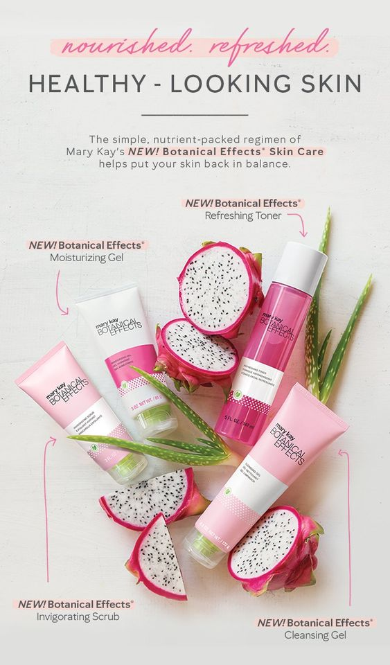 Freshen up your skin care routine! Botanical Effects® combines dragon fruit extracts and aloe to create an an antioxidant-packed infusion that helps keep skin healthy-looking and hydrated. | Mary Kay