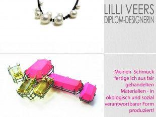 Lilli Veers Schmuck aus fair gehandelten Materialien - in ökologisch und sozial verantwortbarer Form gefertigt! www.lilli-veers.de