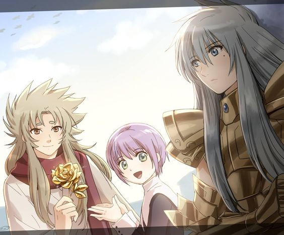 Canvas 2 Anime Characters : Shion sasha albafica the lost canvas pinterest