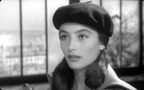 Anouk Aimee in  Les Amants de Montparnasse  (Jacques Becker, 1958)