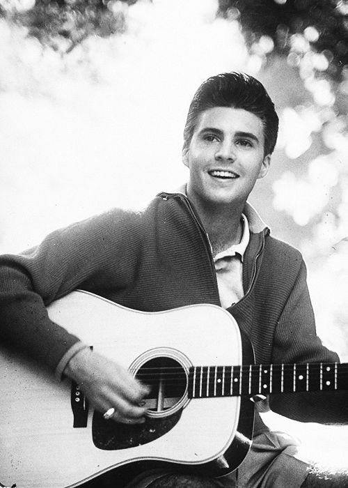 Ricky Nelson photographed for LIFE Magazine, 1958