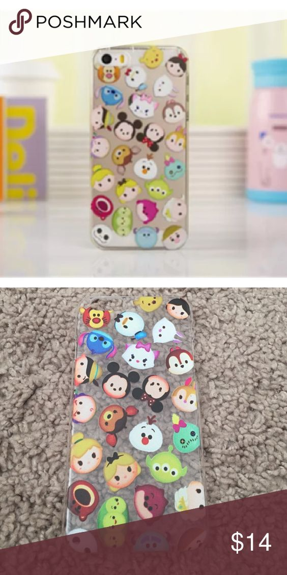 Tsum Tsum Mini Mickey Minnie Friends Iphone 6 6s New never used hard case. ✨Save $$$ when bundling with other items. 📍NO TRADE 👯Final Price! Accessories Phone Cases
