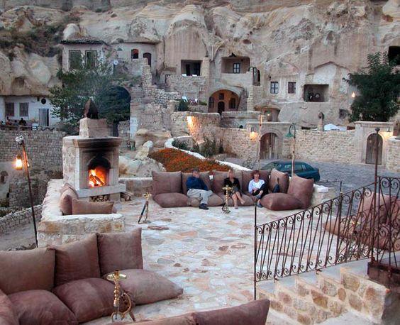 Capadoccia cave hotel, Turkey