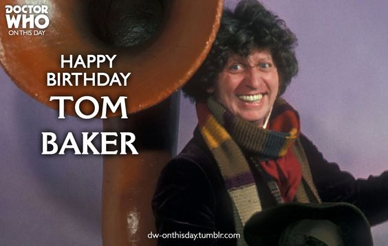 Doctor Who - On This Day : Happy birthday to the Fourth Doctor ...