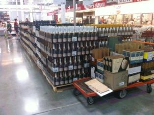 Check costco for empty wine crates wedding decor for Empty wine crates