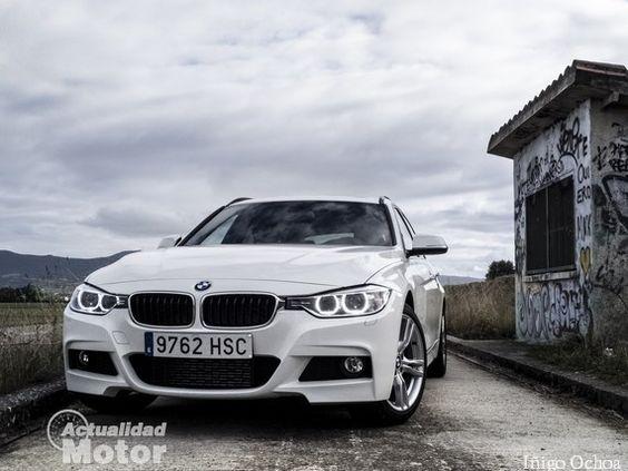 Prueba BMW 320d Touring, diseño exterior e interior - http://www.actualidadmotor.com/2013/10/14/prueba-bmw-320d-touring-diseno/