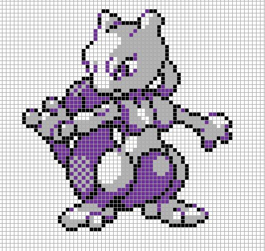 My obsession with Gengars will never be satisfied.The sprite itself is Gengar's Battle Sprite from Diamond & Pearl and all the colors are straight from the origina...